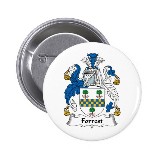 Forrest Family Crest Pins