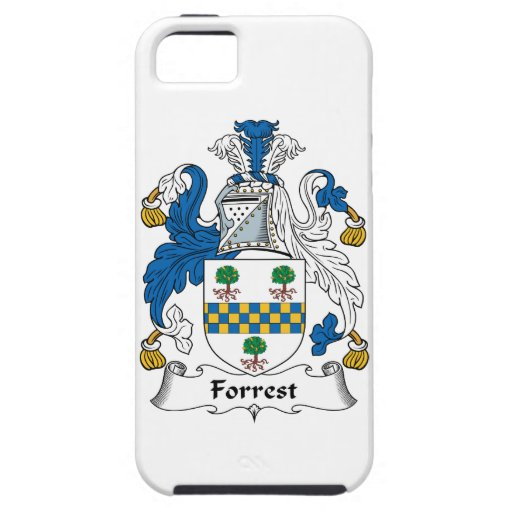 Forrest Family Crest iPhone 5 Covers