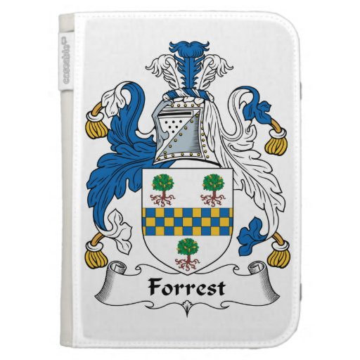 Forrest Family Crest Kindle 3G Covers