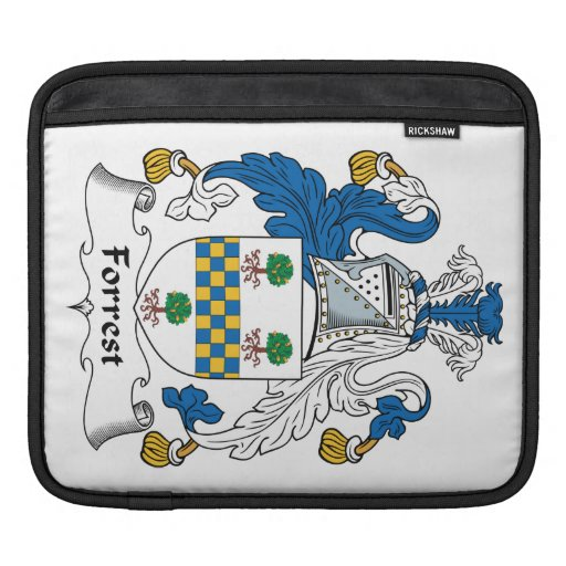 Forrest Family Crest iPad Sleeves