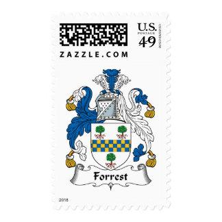 Forrest Family Crest Postage