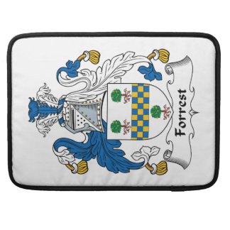 Forrest Family Crest Sleeve For MacBook Pro