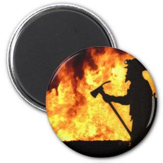 Forrest Fire 2 Inch Round Magnet