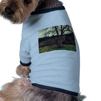 Forrest frecuentado camisas de mascota