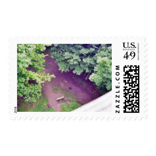 Forrest From Wisconsin Park Tower Postage Stamp