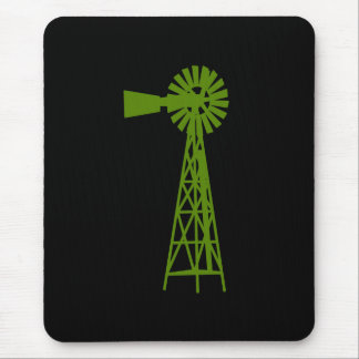 Forrest Green Windmill.png Mouse Pad