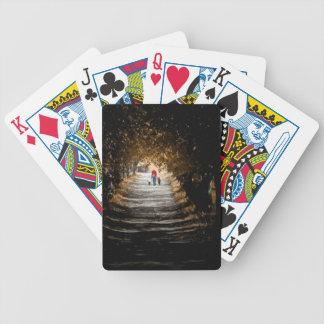 forrest gump road bicycle playing cards