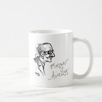 Forrest J Ackerman Schirmeister Sketch Classic White Coffee Mug