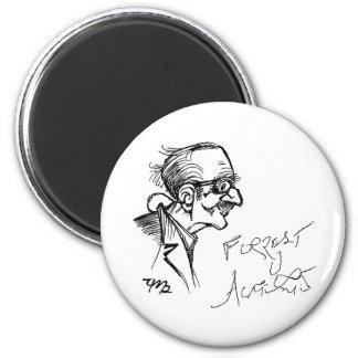 Forrest J Ackerman Schirmeister Sketch Magnets