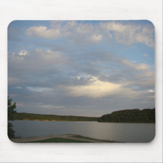 Forrest Lake, Thousand Hills State Park & Evening Mouse Pad