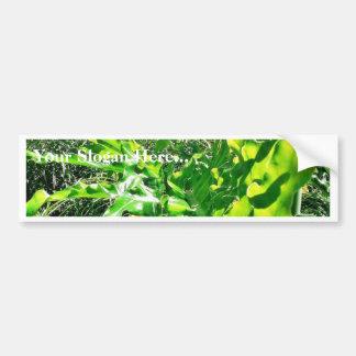 Forrest Leaves Bumper Sticker