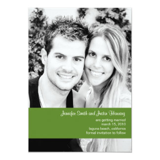 Forrest Photo Save the Date Card