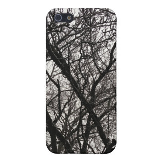 Forrest Snow Camouflage iPhone SE/5/5s Cover