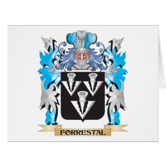 Forrestal Coat of Arms - Family Crest Large Greeting Card