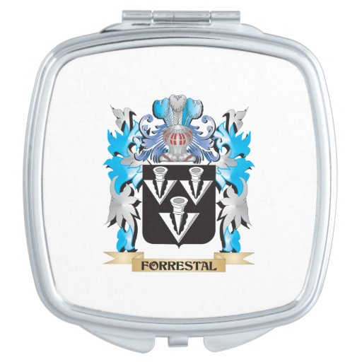 Forrestal Coat of Arms - Family Crest Compact Mirror