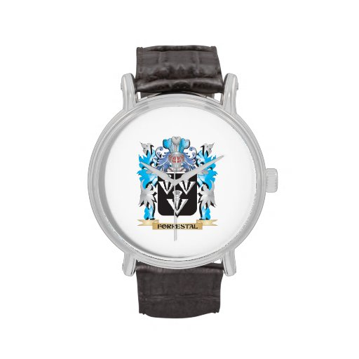 Forrestal Coat of Arms - Family Crest Wrist Watch