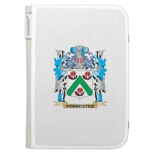 Forrester Coat of Arms - Family Crest Cases For Kindle