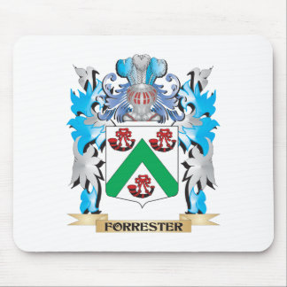 Forrester Coat of Arms - Family Crest Mouse Pad
