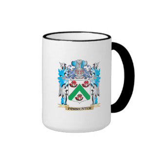 Forrester Coat of Arms - Family Crest Ringer Coffee Mug