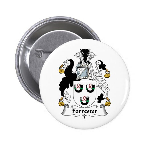 Forrester Family Crest Pin