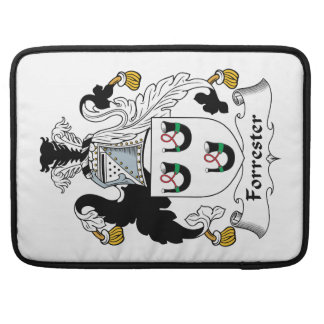 Forrester Family Crest Sleeves For MacBook Pro