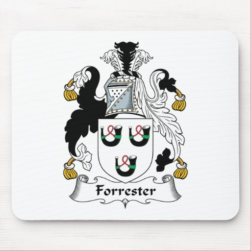 Forrester Family Crest Mouse Mats
