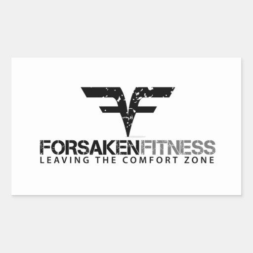 Forsaken Fitness 4 Pack of Stickers