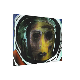 'Forsaken' Stretched Canvas Print