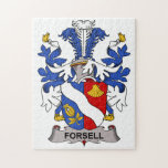 Forsell Family Crest Jigsaw Puzzles