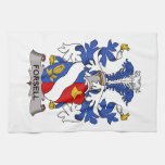 Forsell Family Crest Kitchen Towel