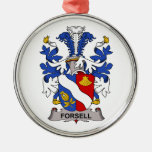 Forsell Family Crest Ornament