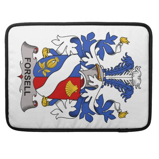 Forsell Family Crest Sleeves For MacBooks