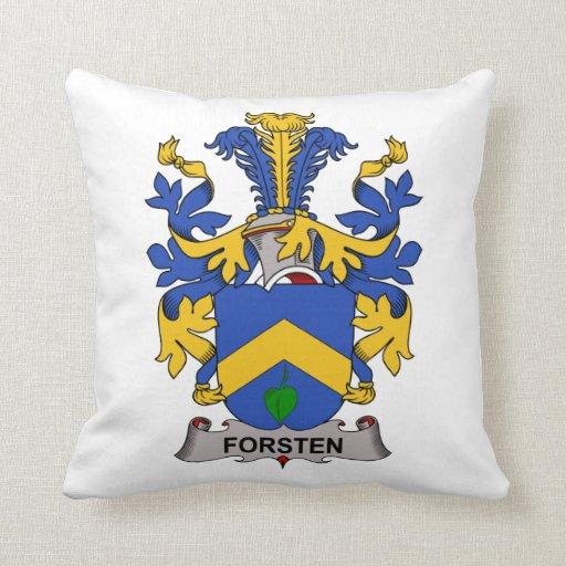 Forsten Family Crest Pillow