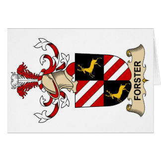Forster Family Crest Card