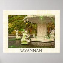 Forsyth Fountain, Savannah, GA - St Patrick's Day