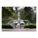Forsyth Park Fountain Greeting Card