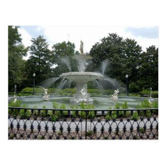 Forsyth Park Fountain Post Card