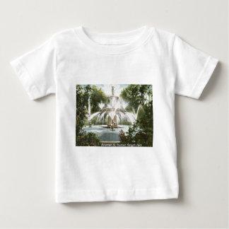 Forsyth Park, Savannah 1906 Vintage Baby T-Shirt