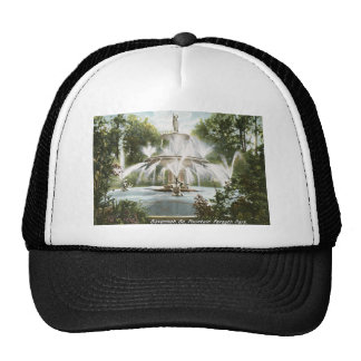 Forsyth Park, Savannah 1906 Vintage Trucker Hat