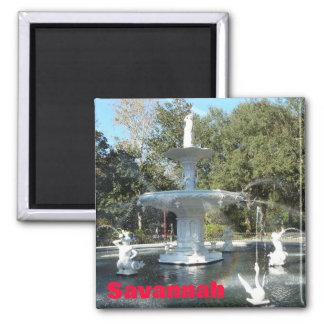 Forsyth Park Savannah Fountain Photo Magnet