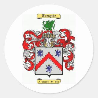 Forsythe Classic Round Sticker