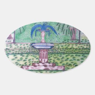 Forsythe Park-oval sticker