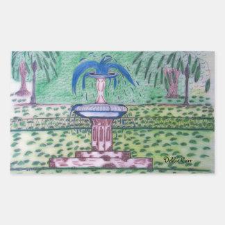 Forsythe Park-rectangle sticker