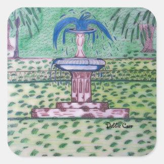Forsythe Park-square sticker