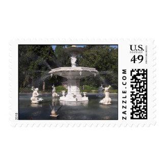 Forsythe Park Stamp