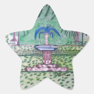 Forsythe Park-star sticker