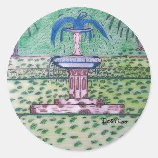Forsythe Park-sticker Classic Round Sticker
