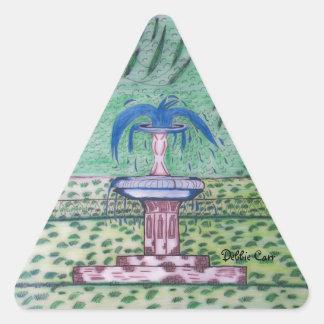 Forsythe Park-triangle sticker