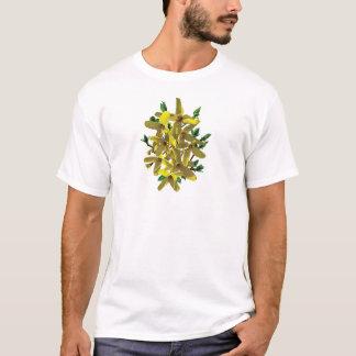 Forsythiawith Leaves Mens T-Shirt
