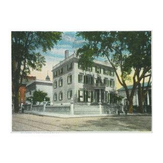 Fort Allen Park View of Casco Bay Canvas Print